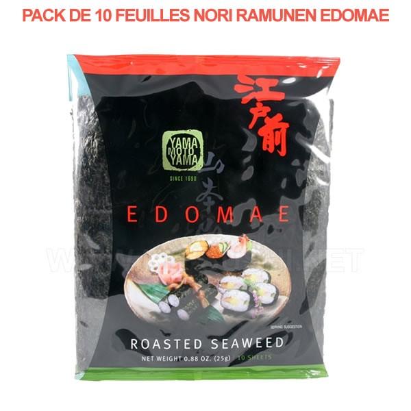 Ramunen plaques de feuilles d'algues nori pour sushi maki