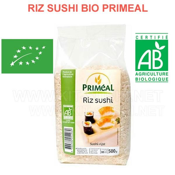 Riz bio pour sushi Priméal 500gr