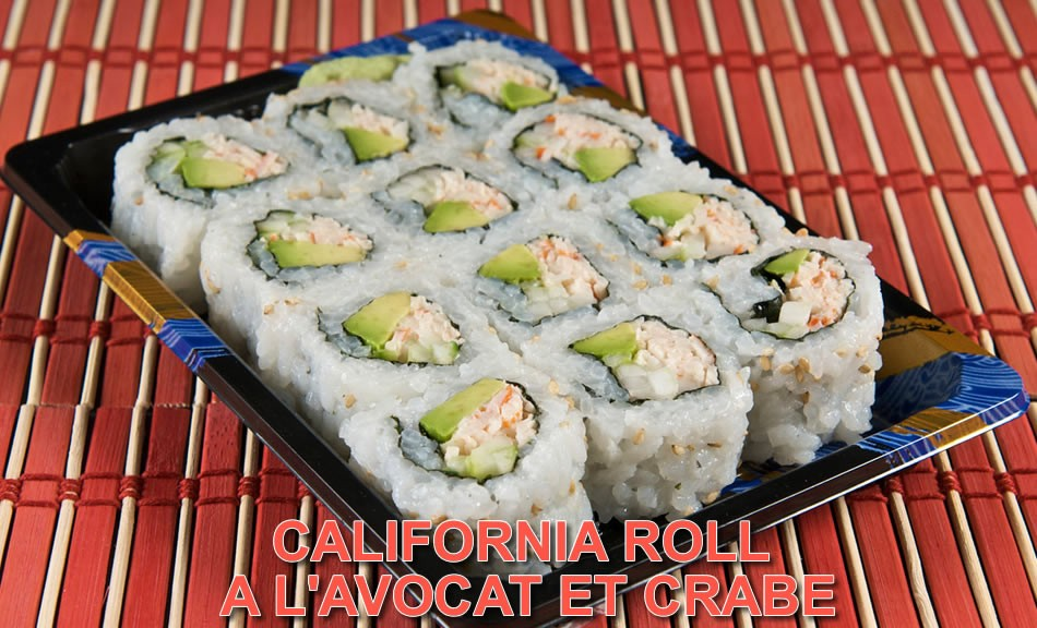 Recette California-Roll maki avec le kit sushi roller Sushi Magic